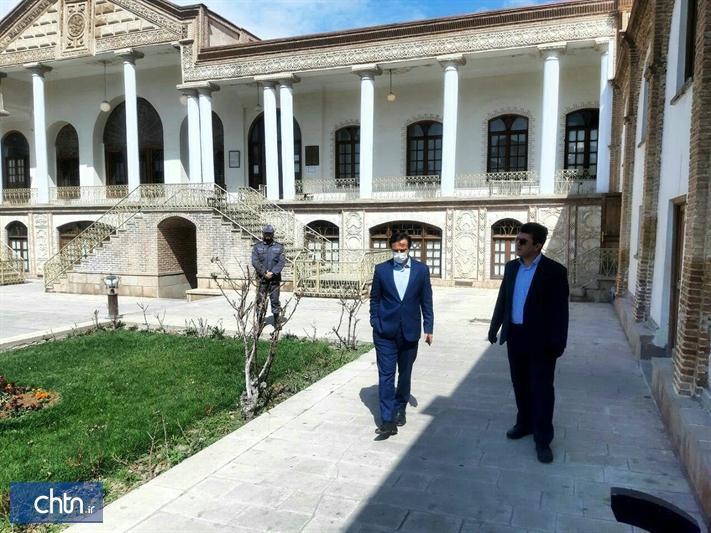 بازدید مدیرکل آذربایجان شرقی از فرایند فعالیت یگان حفاظت میراث فرهنگی استان