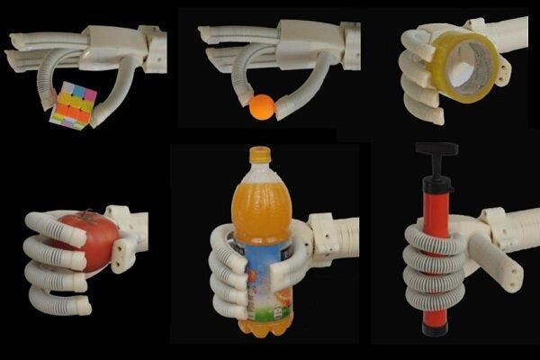 روباتی که اشیای ظریف و شکننده را حمل می نماید